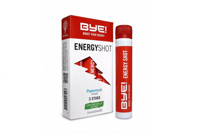 BYE! energy shot - 3x25ml - 5 doosjes