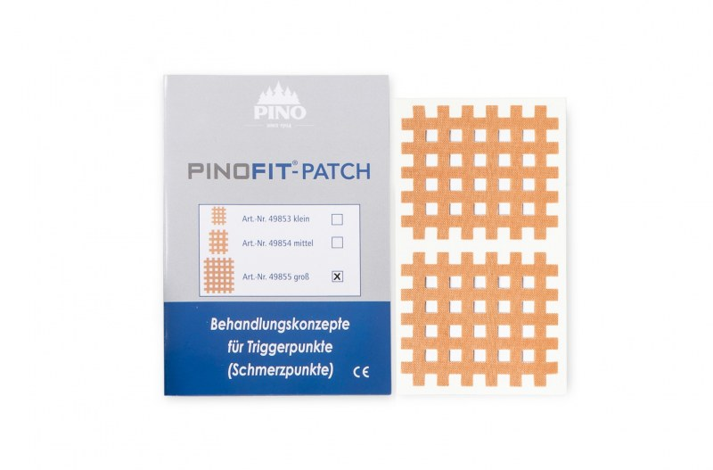 PINOFIT Cross tape - 1 vel met 2 patches