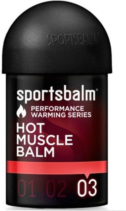 Sportsbalm hot muscle balm 0 tot 5 graden