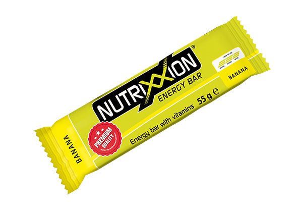 Nutrixxion energy bar - banaan - 55gr