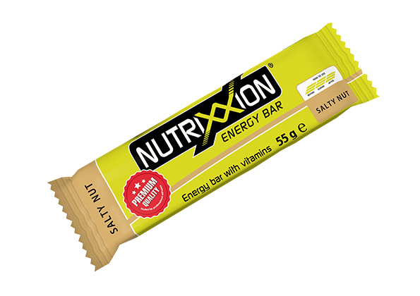 Nutrixxion energy bar - zoute noot - 55gr
