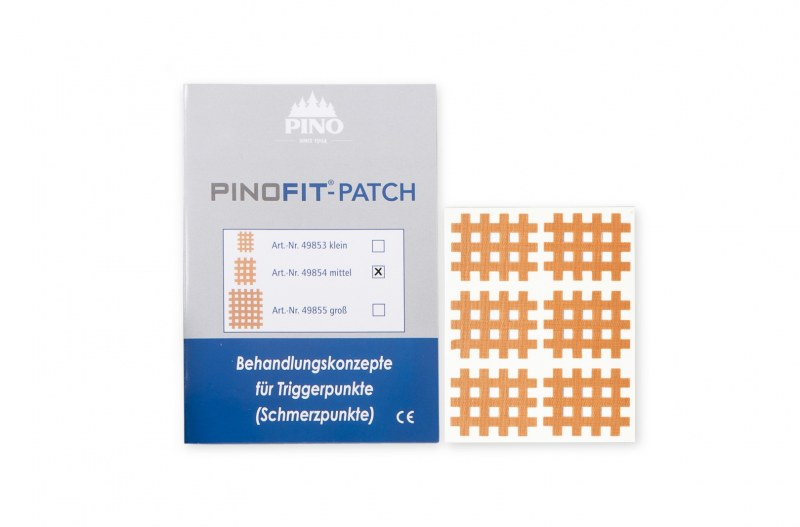 PINOFIT Cross tape - 1 vel met 6 Patches