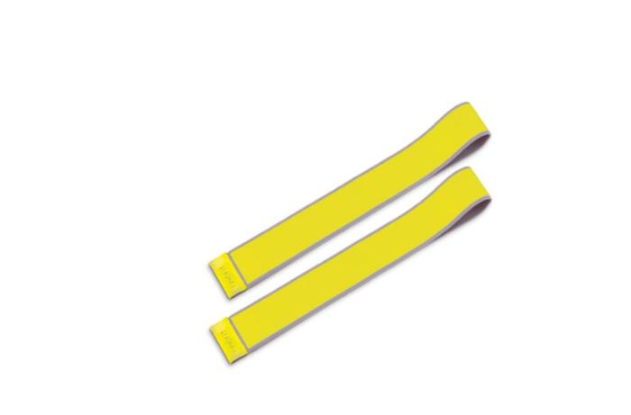 PINOFIT stretchband mini 2 banden 33cm lang en 4cm breed light