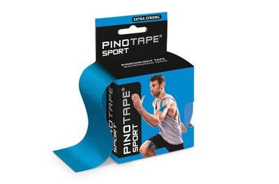 PINOFIT kinesiologische tape sport - blauw - 5m x 5cm