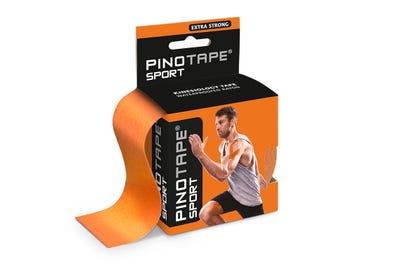 PINOFIT kinesiologische tape sport - oranje - 5m x 5cm