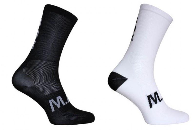 M.A.S. snok sok - zwart/wit