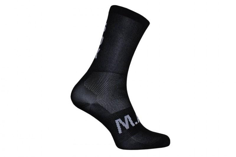 M.A.S. snok sok - zwart/zwart