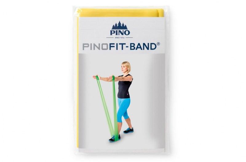 PINOFIT gymnastiekband  - geel 2 meter