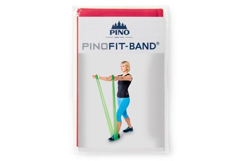 PINOFIT gymnastiekband - rood 2 meter