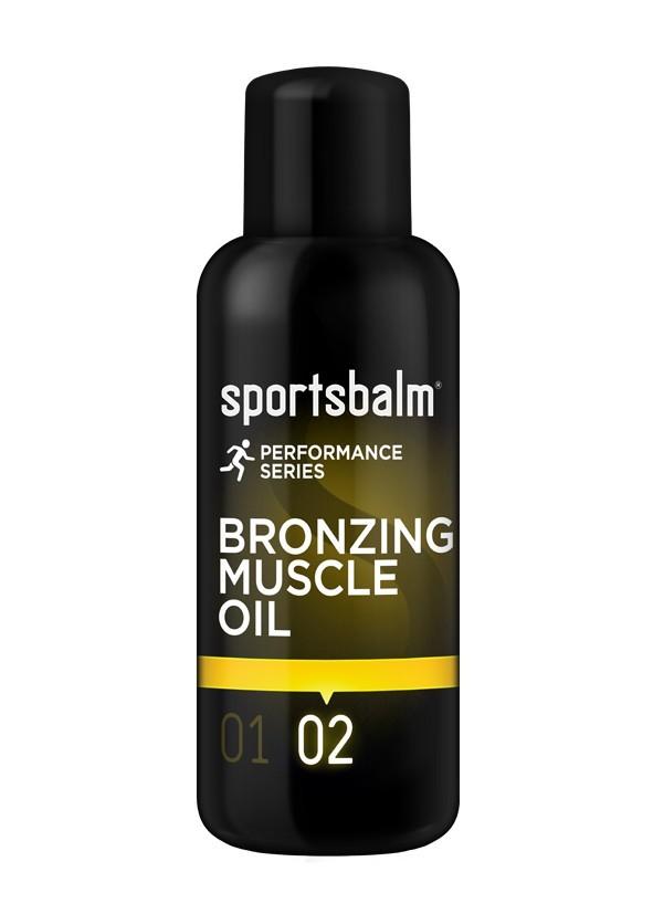 Sportsbalm bronzing muscle oil 19 tot 30 graden