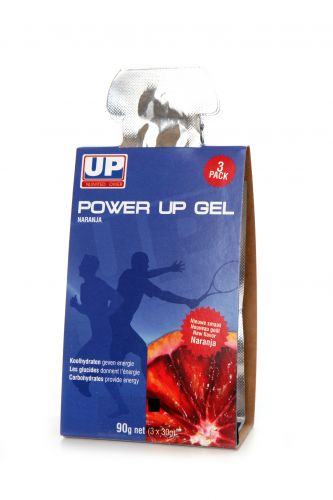 UP power up gel - naranja - 3x 30gr