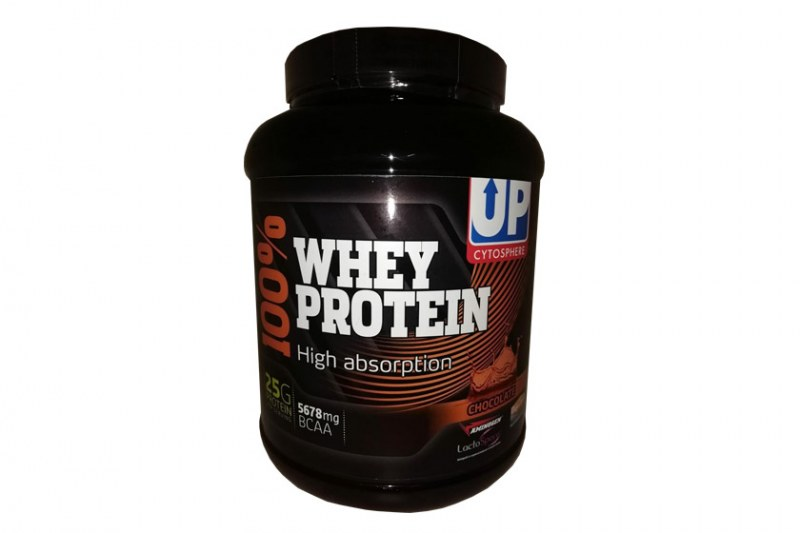 UP 100%whey protein- Chocolade - 900gr