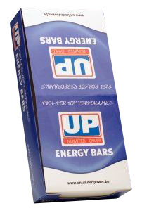 UP High energy bar hazelnoot 40gr 32stuks